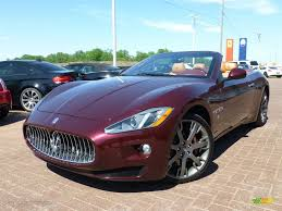 maserati red convertible 2014 bordeaux pontevecchio dark red metallic maserati