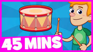 can you play the drums song and more 45mins song collection for