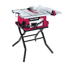 Ryobi Portable Flooring Saw by Skil 15 Amp Corded Electric 10 In Table Saw With Folding Stand