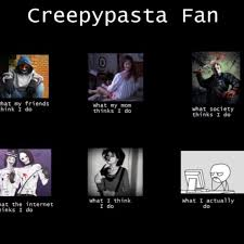 Creepypasta Meme - flipagram by pandabeats34 featuring my nightmare by get scared