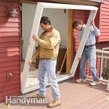 Patio Door Frame Repair Replace A Patio Door Family Handyman