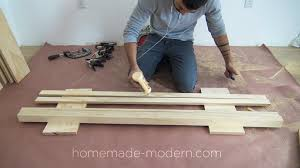 homemade modern diy plywood floor jonesq com