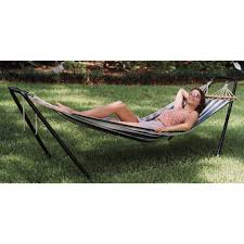 hammock bed texsport crystal bay hammock stand combo 204834 hammocks at