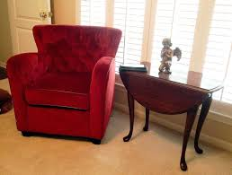 comfortable reading chairs furniture comfortable upholstered sofa with wooden table and