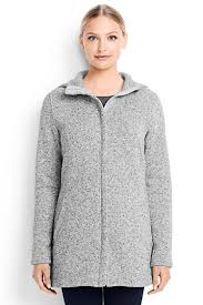 s sweater fleece parka from lands end