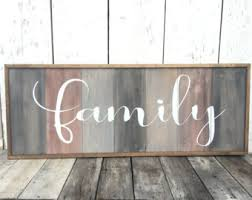 home decor family signs rustic home decor and wood signs by rioakwesterndesign on etsy