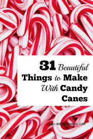 where to buy candy canes 25 candy crafts that make gorgeous christmas decorations