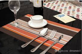 dining room placemats 2018 placemats pvc dining room placemats for table heat insulation