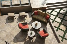 Travertine Patio Colors Finishes And Styles Of Travertine Tile