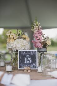 Vintage Backyard Wedding Ideas by 232 Best Table Numbers Images On Pinterest Wedding Rustic