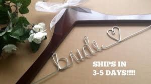 sale wedding hanger hanger bridesmaid hanger