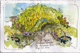 Whidbey Island Map Whidbey Island Sketchers Morning At The Laburnum Arch