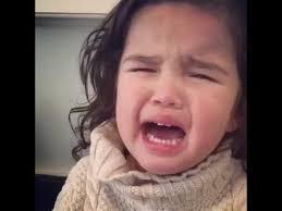 Meme Little Girl - promise of snack silences little girls tears youtube