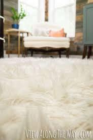best 25 faux fur rug ideas on pinterest white fur rug fur rug