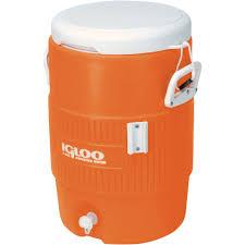 igloo 5 gallon heavy duty beverage cooler orange walmart com