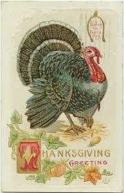 thanksgiving prints america