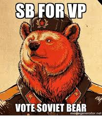 Smokey The Bear Meme Generator - escaping the infamous soviet bear 1981 colorized buzzfeed sucks on