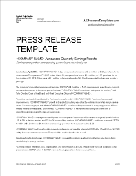 how to write a press release topics about business forms