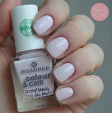 essence color u0026care strengthening nail polish swatches u0026 review