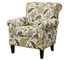 Fabric Accent Chair Cream U0026 Yellow U0026 Brown Fabric Accent Chair Caravana Furniture