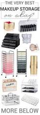 bathroom makeup storage ideas best 25 makeup storage ideas on pinterest makeup organization