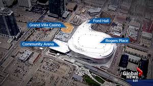 rogers place arena opens in downtown edmonton to great fanfare