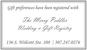 wedding registry cards weekly wedding no nos a day to remember