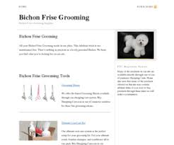 bichon frise grooming guide bichonfrisegroomingnow com bichon frise grooming u2014 bichon frise