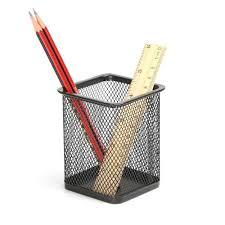 Pencil Holders For Desks by Aojia Rectangular Mesh Style Pen Ruler Holder Desk Organizer Mesh