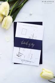 Navy Blue Wedding Invitations Más De 25 Ideas Increíbles Sobre Blue Wedding Invitation Sets En