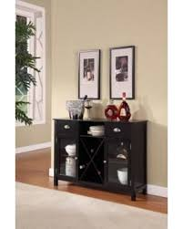 console table with wine storage deal alert 51 off black wood contemporary wine rack sideboard