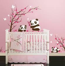 stickers geant chambre fille idée chambre bébé fille recherche idée déco chambre