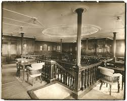 514 best titanic ships images on pinterest cruise ships second class entrance and lounge aboard the mauretania