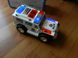 police car toy techege battery powered police toy car flashing lights sirens