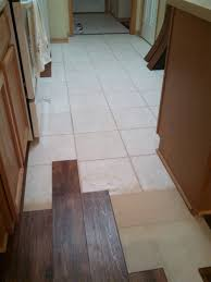 Wood Laminate Flooring Flooring Over Tile Floor Decorations And Installation