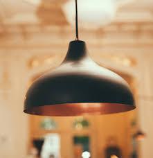 black and copper pendant light vienna 30 medium pendant l black copper by authentics