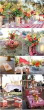 outdoor decoration ideas for rustic weddings gingham picnics