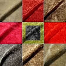 tissu ameublement canapé cocon un tissu velours uni lavable tapissier pour sièges