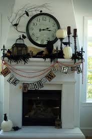 perfect halloween mantel decorating ideas 58 for your small home