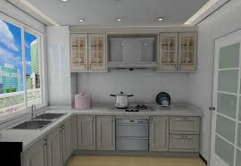 yellow and green kitchen cabinet design rendering 3d house free