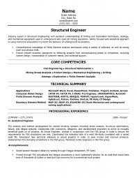 Resume Core Qualifications Examples by 8 Structural Engineering Resume Resume Structural Engineer Resume