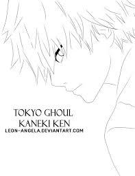 printable tokyo ghoul anime manga coloring pages kids