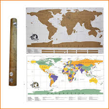 Scratch Off Map Travel Scratch Off Map Personalized World Poster Traveler Within