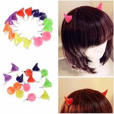 barrettes hair aliexpress buy girl stereo horns ears