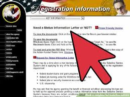 how to register for selective service 9 steps with pictures