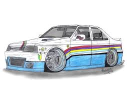 peugeot 405 tuning peugeot 405 t16 by mister lou on deviantart