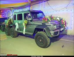 mercedes g63 amg 6x6 for sale brabus g63 amg 6x6 makes for a great wedding car