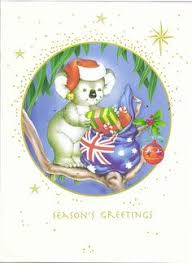 christmas cards from australia christmas cards cards and