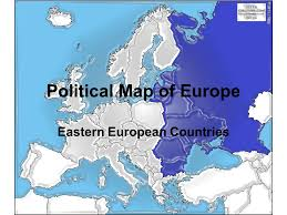 map of eastern european countries political map of europe eastern european countries ppt