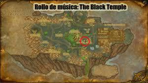 Black Temple Map Rollos De Música Para La Ciudadela Hazte Con Todos